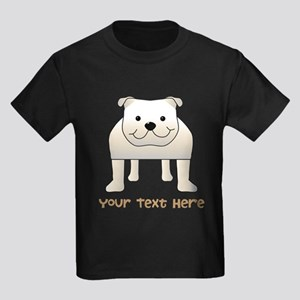 Bulldog and Text. T-Shirt