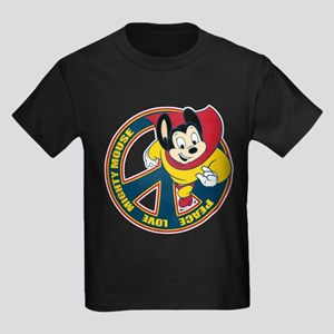 Peace Sign Mighty Mouse T-Shirt