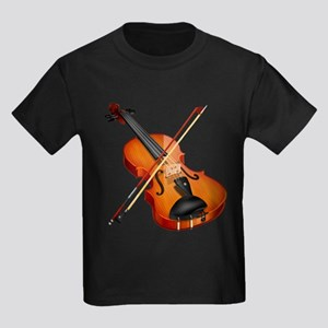 Beautiful Violin and Bow Musical Ins T-Shirt