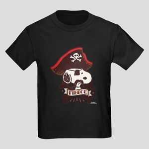Peanuts Snoopy Fierce Kids Dark T-Shirt