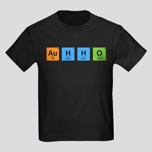 Au H2 O (Goldwater) Kids Dark T-Shirt