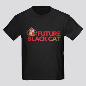 Future Black Cat SAFC Kids Dark T-Shirt