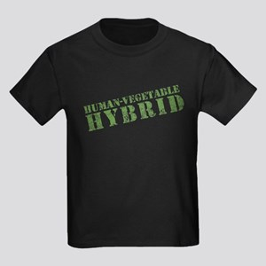 Human Vegetable Hybrid Kids Dark T-Shirt