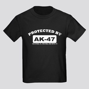 property of protected by ak47 w T-Shirt