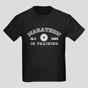 Marathon In Training Kids Dark T-Shirt
