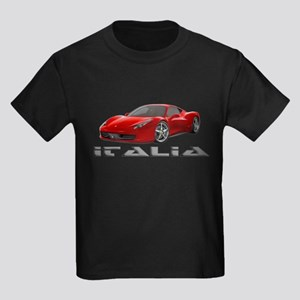 Ferrari Italia Kids Dark T-Shirt