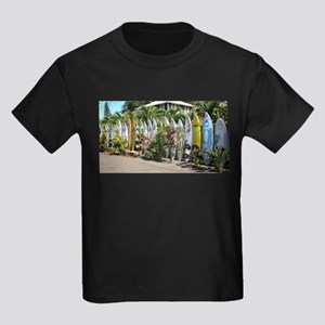 Surf board fence on Maui T-Shirt
