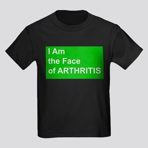 I Am the Face of ARTHRITIS (green) T-Shirt