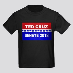 Ted Cruz 2018 Senate Kids Dark T-Shirt