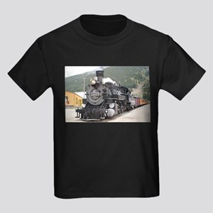 Steam train engine Silverton, Colorado, US T-Shirt