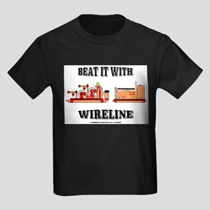 Beat It With Wireline Kids Dark T-Shirt