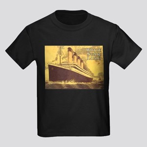Titanic 1 Kids Dark T-Shirt