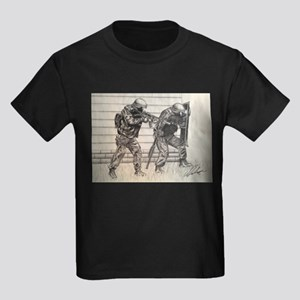Police Tactics Kids Dark T-Shirt