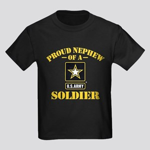 Proud Nephew U.S. Army Kids Dark T-Shirt