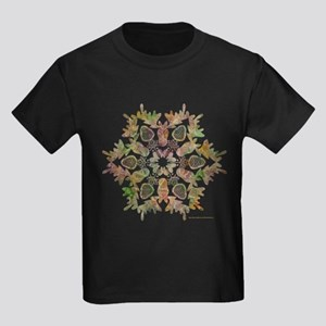 Moose Snowflake Kids Dark T-Shirt