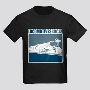 Locomotives Rock Kids Dark T-Shirt