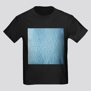 Moon braille - Kid's Dark T-Shirt