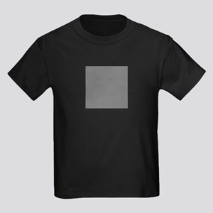 Dark Grey Solid Color T-Shirt