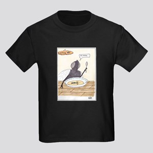 Man in the Soup Kids Dark T-Shirt