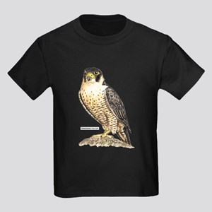 Peregrine Falcon Bird Kids Dark T-Shirt