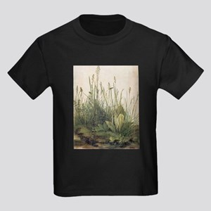 Albrecht Durer Great Piece Of Turf Kids Dark T-Shi