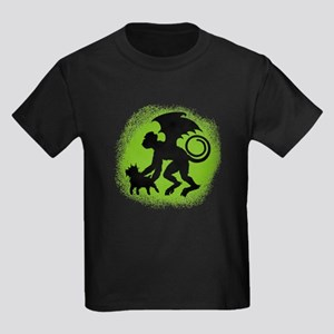 Flying Monkey with Toto Kids Dark T-Shirt