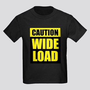 Wide Load (Fat) Kids Dark T-Shirt