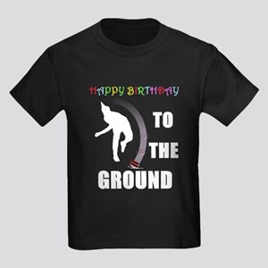 Colorful Happy Birthday to th Kids Dark T-Shirt