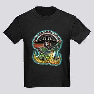 USAF AC-47 Spooky Kids Dark T-Shirt