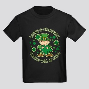 Lucky & Charming Kids Kids Dark T-Shirt
