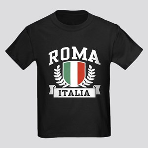 Roma Italia Kids Dark T-Shirt
