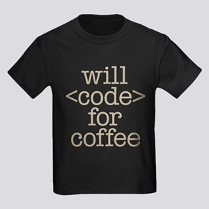 Code For Coffee T-Shirt