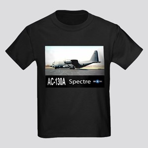 C-130 SPECTRE GUNSHIP Kids Dark T-Shirt