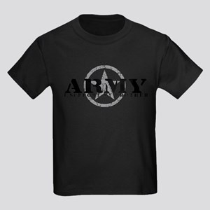 Army - I Support My Brother Kids Dark T-Shirt