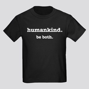 HumanKind. Be Both Kids Dark T-Shirt