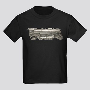 VINTAGE TRAIN TOYS Kids Dark T-Shirt