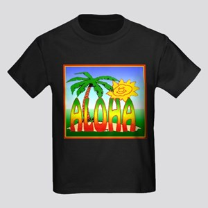 Hawaiian Kids Dark T-Shirt