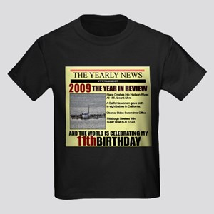 11 birthday Kids Dark T-Shirt