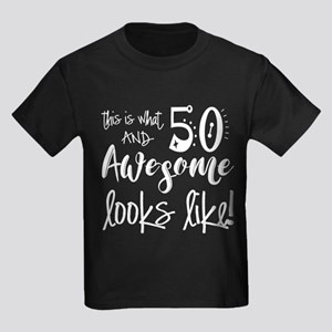 Awesome 50 Years Old Kids Dark T-Shirt