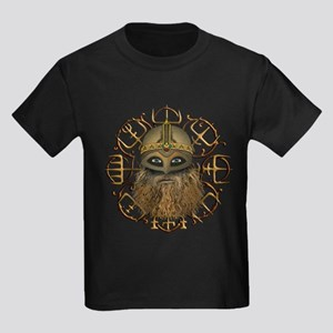 Viking & Vegvisir Kids Dark T-Shirt