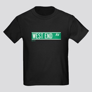West End Avenue in NY Kids Dark T-Shirt