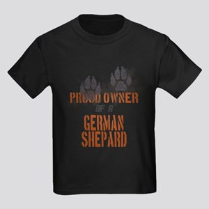 German Shepard Kids Dark T-Shirt