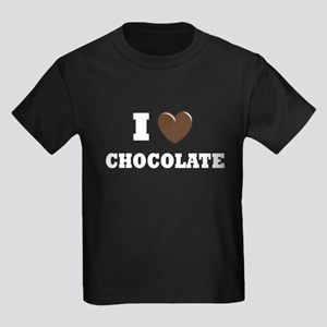 I love Chocolate Kids Dark T-Shirt