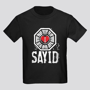I Heart Sayid - LOST Kids Dark T-Shirt