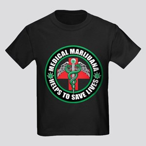 Medical Marijuana Helps Kids Dark T-Shirt