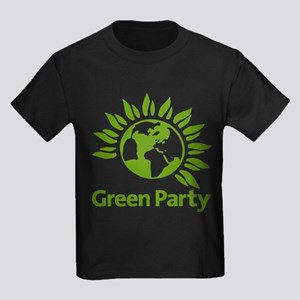 The Green Party Kids Dark T-Shirt