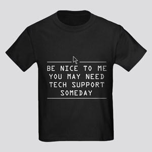 289253f5 Be nice tech support one day T-Shirt
