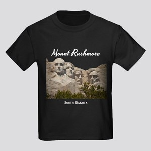 Mount Rushmore Kids Dark T-Shirt