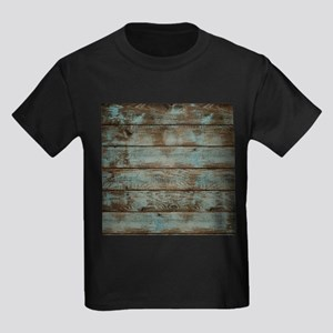 rustic western turquoise barn wood T-Shirt