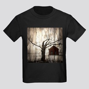 rural landscape old barn T-Shirt